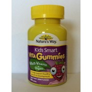 Kẹo dẻo Nature's Way Kids Smart Vita Gummies Multi Vitamin & Vegies 60 viên Úc