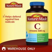 Vitamin C Nature Made 500mg (180 viên)