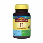 Vitamin E 400 iu Nature Made (180 viên)