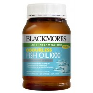 Blackmores Odourless Fish Oil 1000mg (Khử mùi)