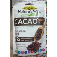 BỘT CACAO HỮU CƠ NATURE'S WAY 125G