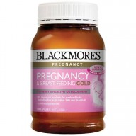 Blackmores Pregnancy & Breast-Feeding Gold (180 viên)-Blackmores cho bà bầu